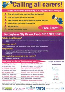 Carers Roadshow
